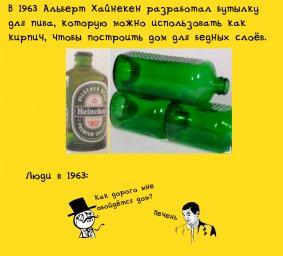 бутылка для пива Heineken