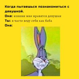 кролик мем из тик тока