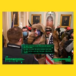 Мем - штурм Капитолия в США - отличный геймплей