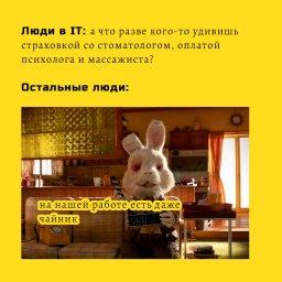 мем - кролик Ральф - люди в АЙТИ и остальные профессии
