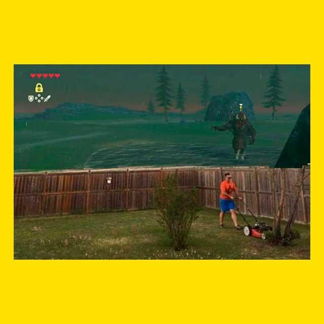 газонокосильщик в игре