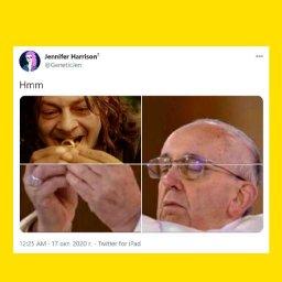 мем - папа римский и кольцо