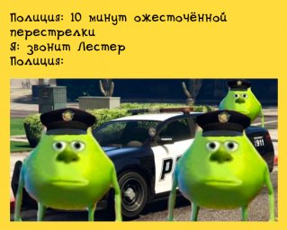 полиция в GTA