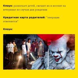 мем про клоуна который развлекал детей