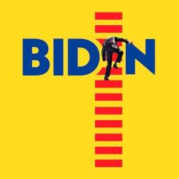мем - Джо Байден и трап самолёта - новый лого нового президента