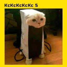кошка маскируется под новую плойку