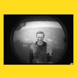 мем - марсоход - Алексей Навальный