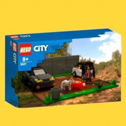 мем - фродо с кегой - Лего набор