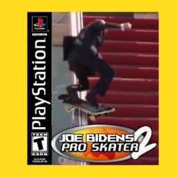 мем - Байден на скейте