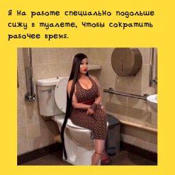 Тайное назначение офисного туалета