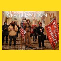 Мем - штурм Капитолия в США - цивилизация
