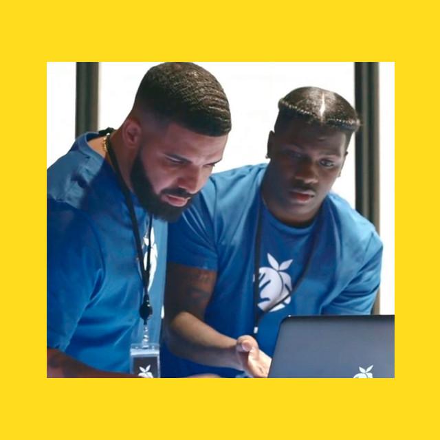 Мем - дрейк и ноутбук - шаблон 2