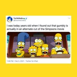 Гримбли - мемы про нового в Симпсонах - 9c3252c2