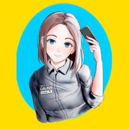 мем - Samsung Sam - аниме арт