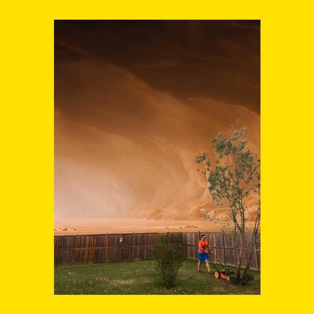 газонокосильщик на Марсе