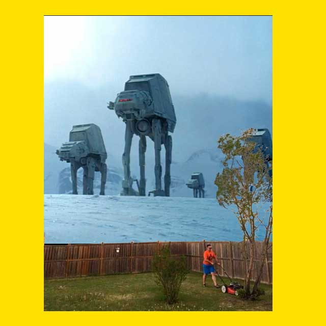 Star Wars, газонокосильщик и Photoshop