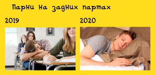 На задней парте: в 2020 году