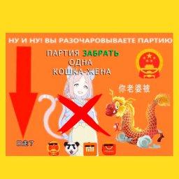 мемы - китайские мемы - партия разочарована