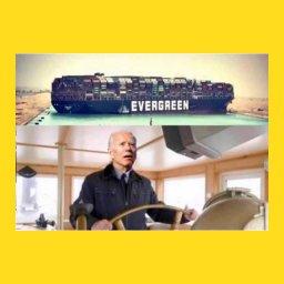 мем - капитан контейнеровоза