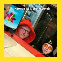 мем с двумя школьниками - мимикрируют под Охлобыстина