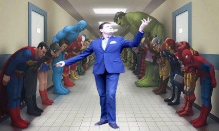 Супергерои кланяются Маэстро