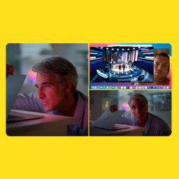 мем - Крейг Федериги смотрит в MacBook - шоу про Дзюбу